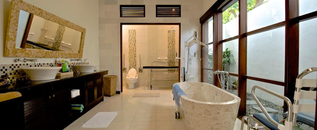 villa-g-bathroom-view bali indonesia