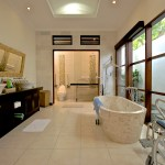 villa-g-bathroom-view bali indonesia