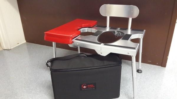 portable shower chair
