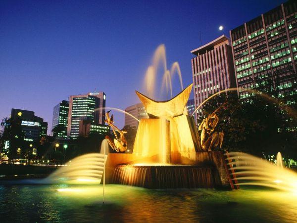 Victoria square Adelaide Australia