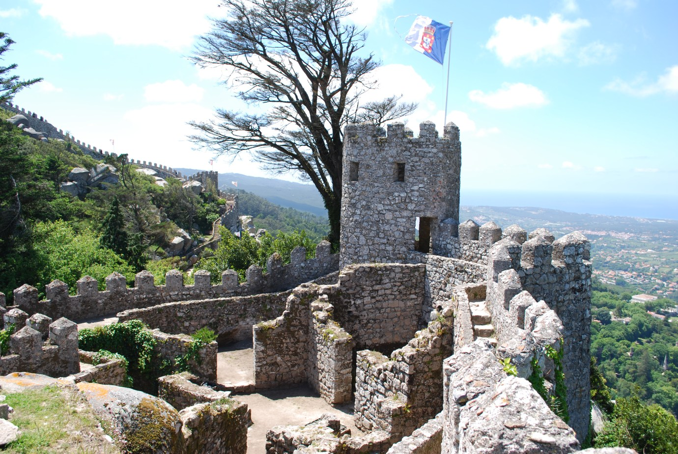 castle of the moors sintra portugal