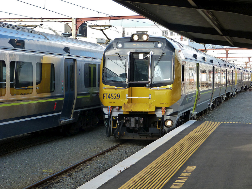 kiwi rail new zealand