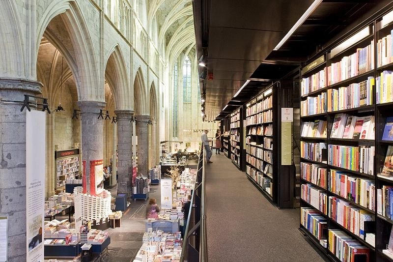Dominican Church bookstore Maastricht the Netherlands