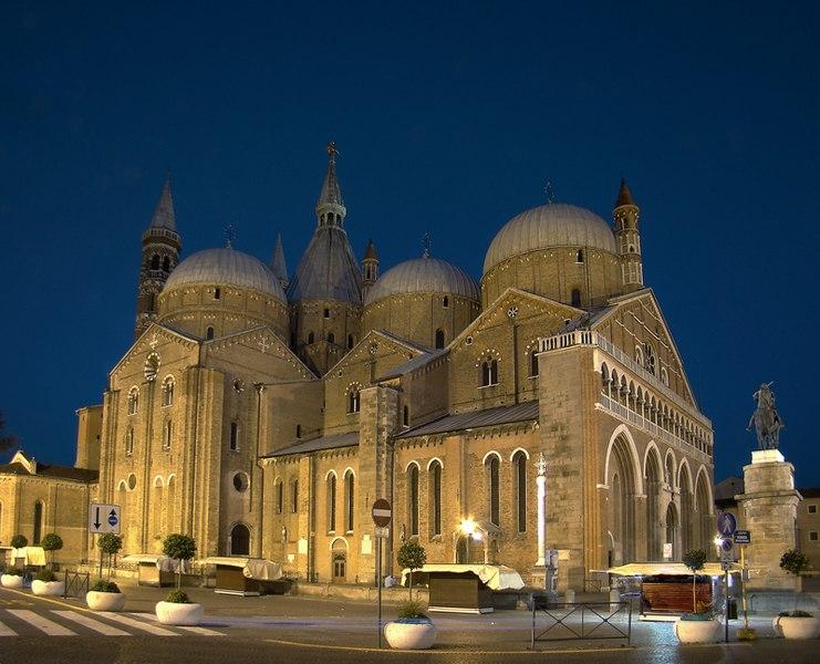 basilica st anton padova italy