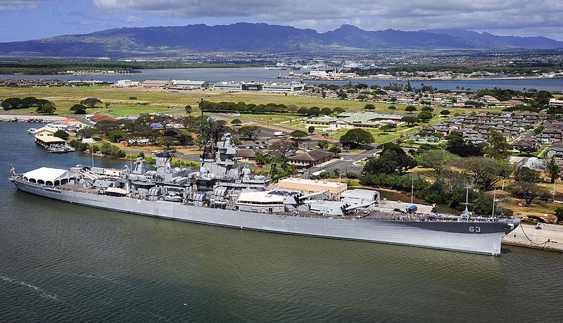 uss ship missouri hawaii usa