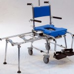 chair blue with extension