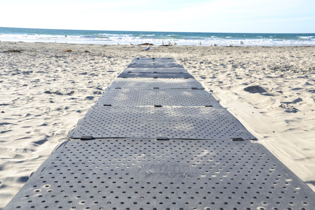 Beach Trax On Sand