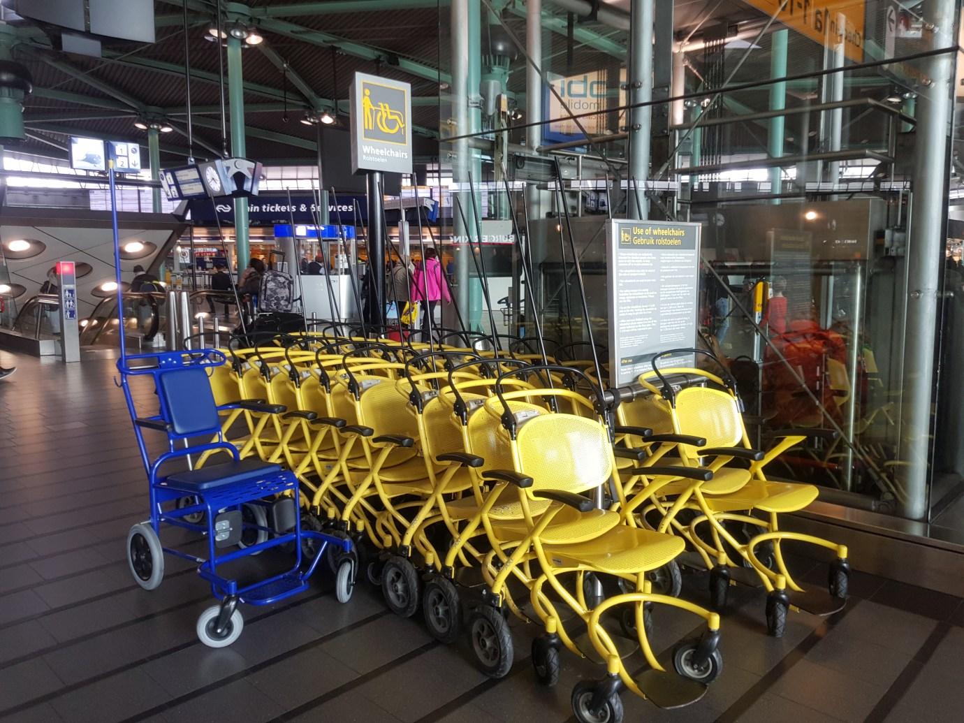 schiphol wheelchairs