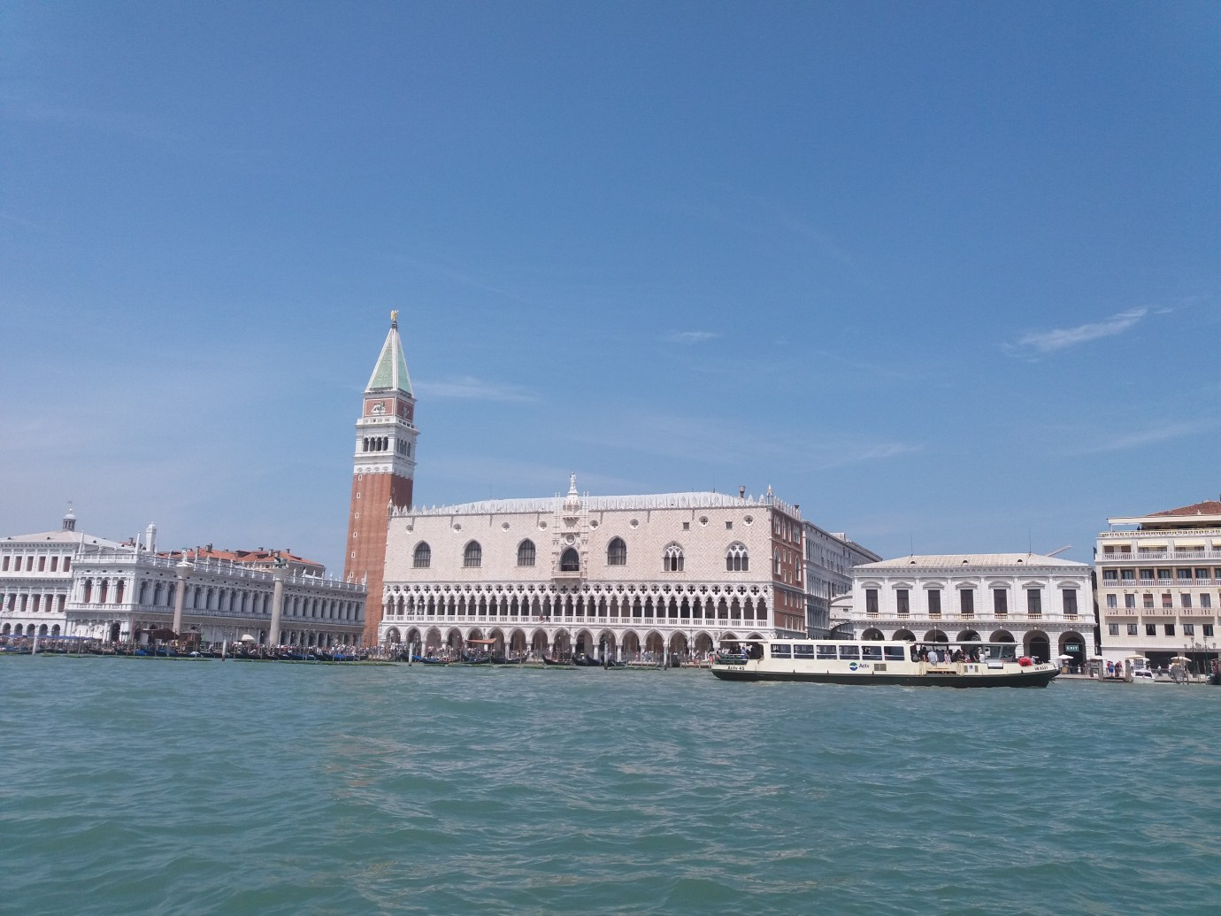 Venezia city view from the water