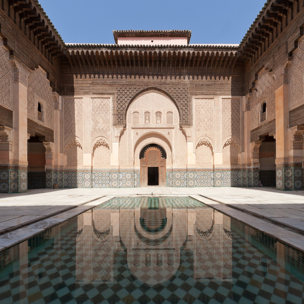 medersa ben youssef marrakech morocco