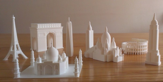 3d buildings tactile products museum