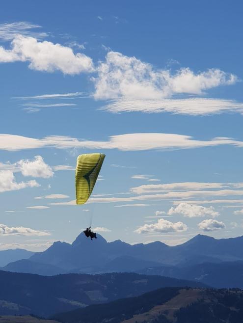 Helma accessible paragliding