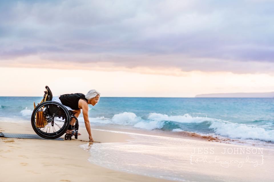 Jess Johnson Photography. Ms Wheelchair Hawaii Sarah Foley