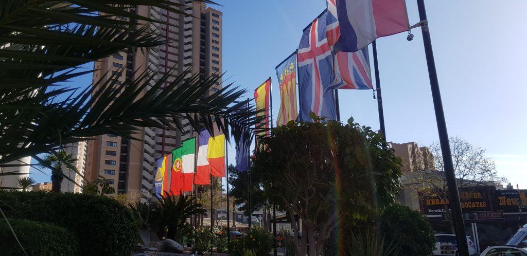 international flags hotel