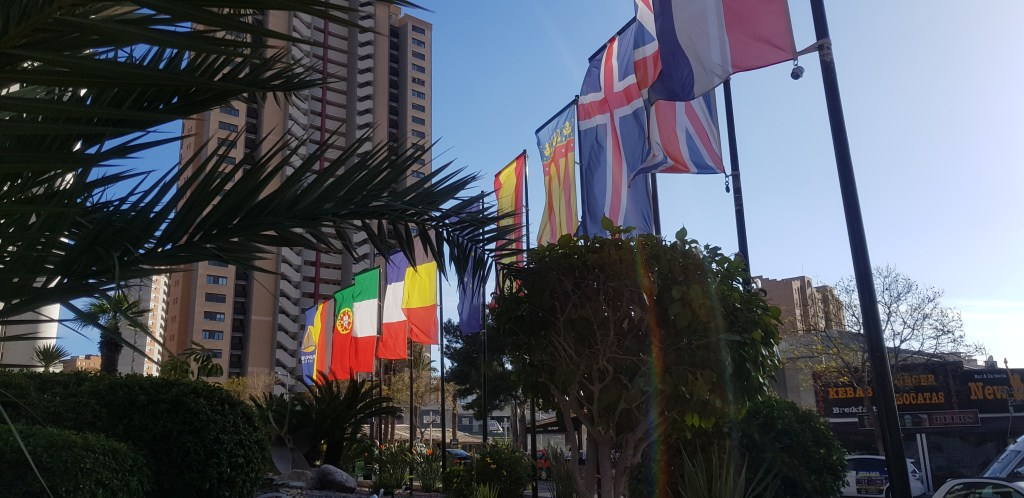 international flags hotel