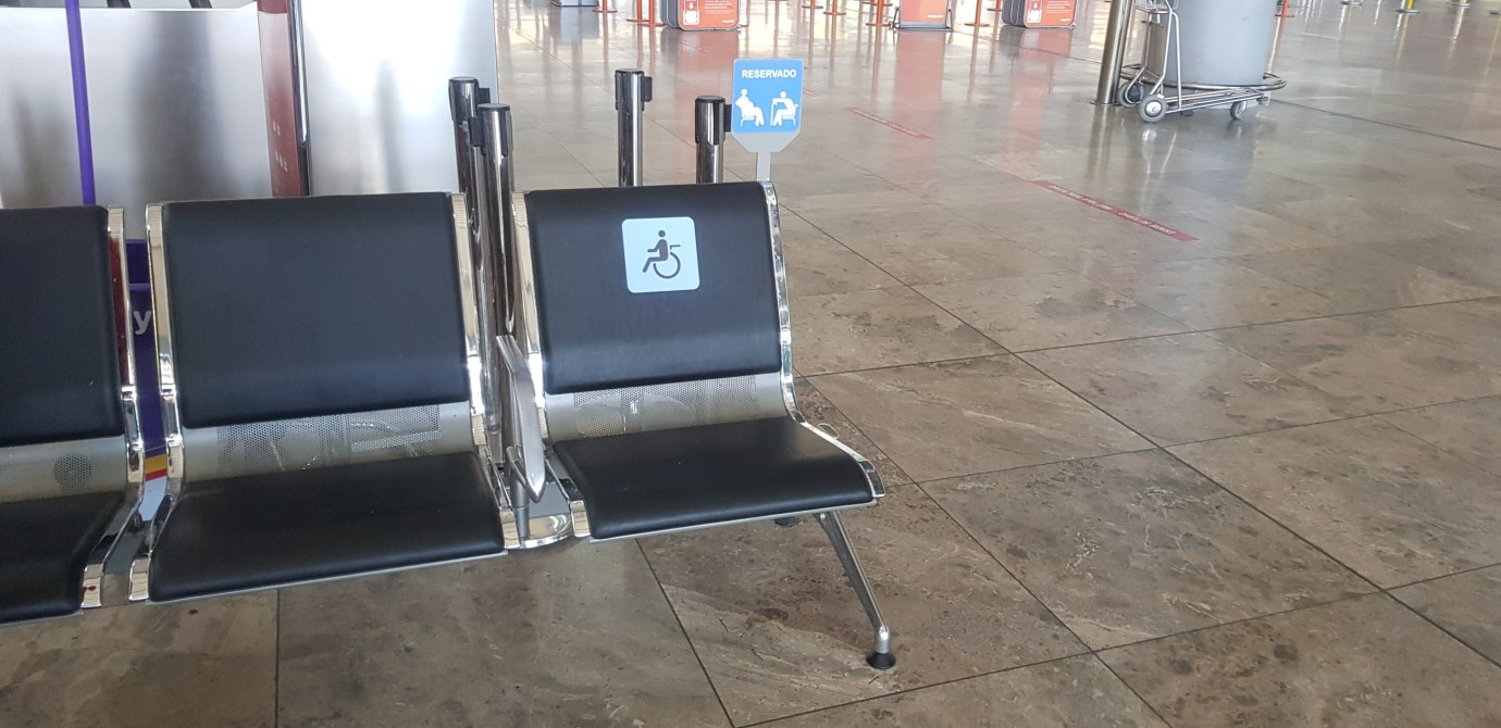 Spain airports accessibility services