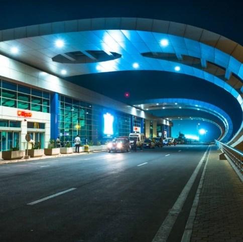 Dakar international airport senegal
