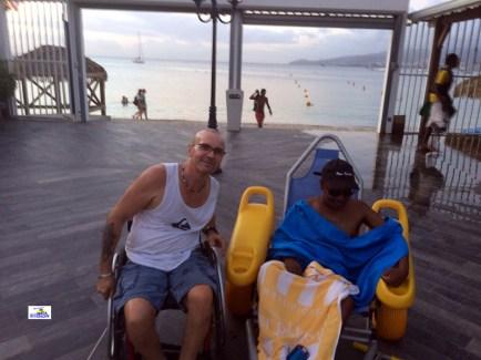 beach chair tiralo martinique