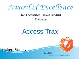 Trailblazers in accessible travel