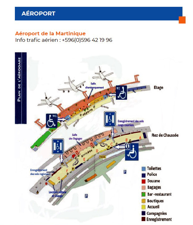 aéroport-Aimé-Césaire Martinique