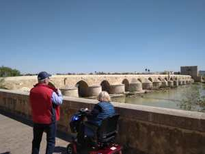 cordoba view bridge spain