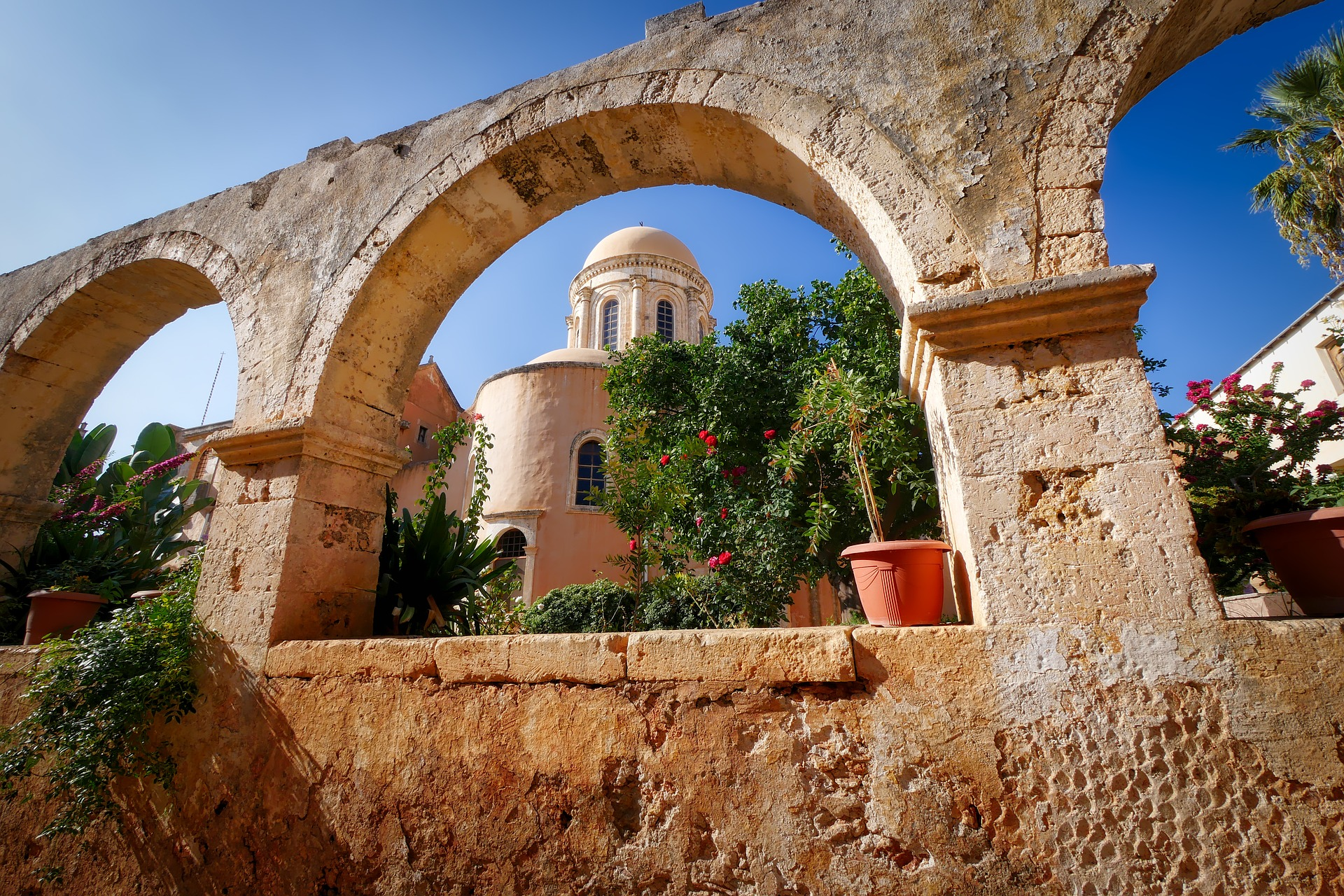 crete architecture Greece