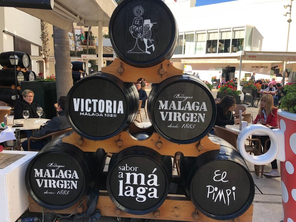 wine malaga spain