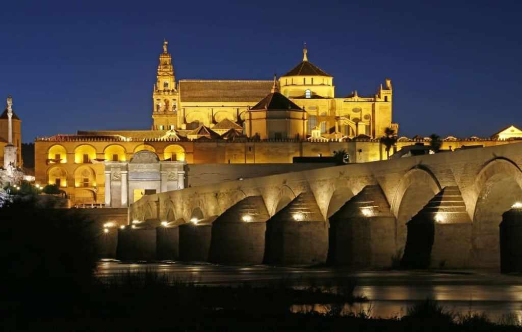 Cordoba-Puente-Romano-by-night spain
