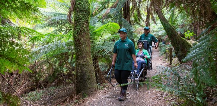 Volunteer-sherpas trailriders victoria parks australia