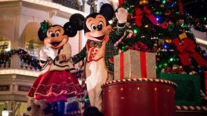 Disneyworld Florida Merry Christmas