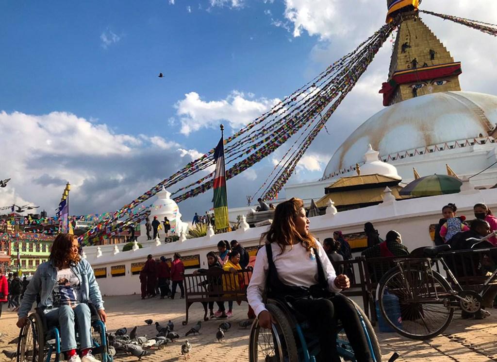boudhanath accessible tour banner