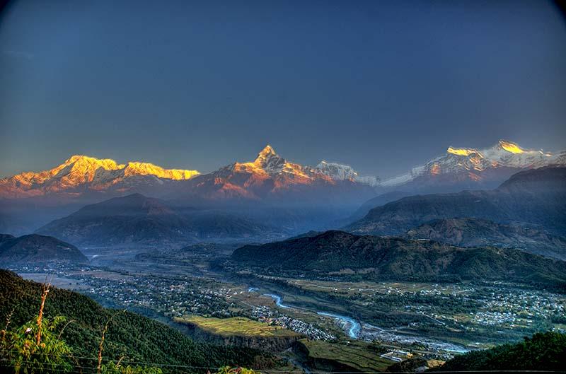 sarngakot  Nepal