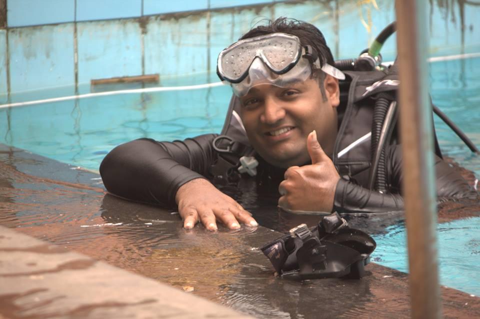 Rahul India swimming pool