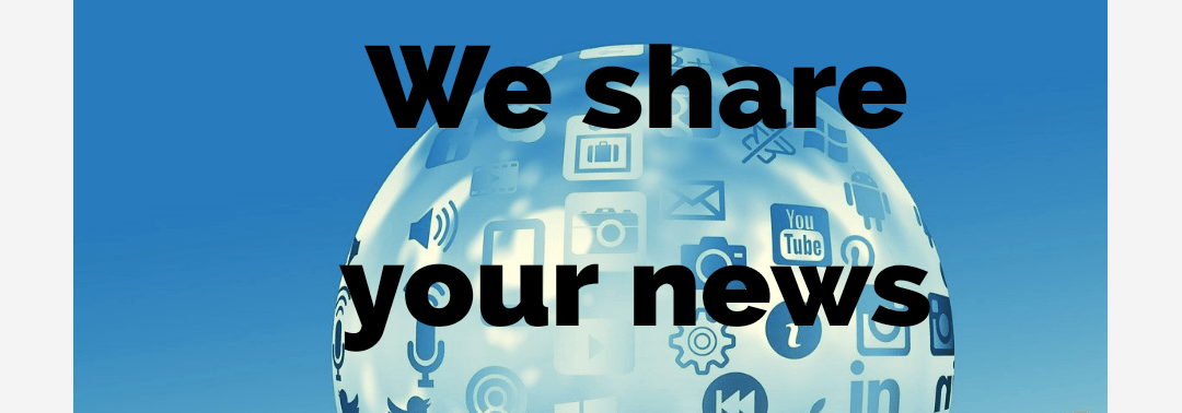 We share your news TOP 60 social media