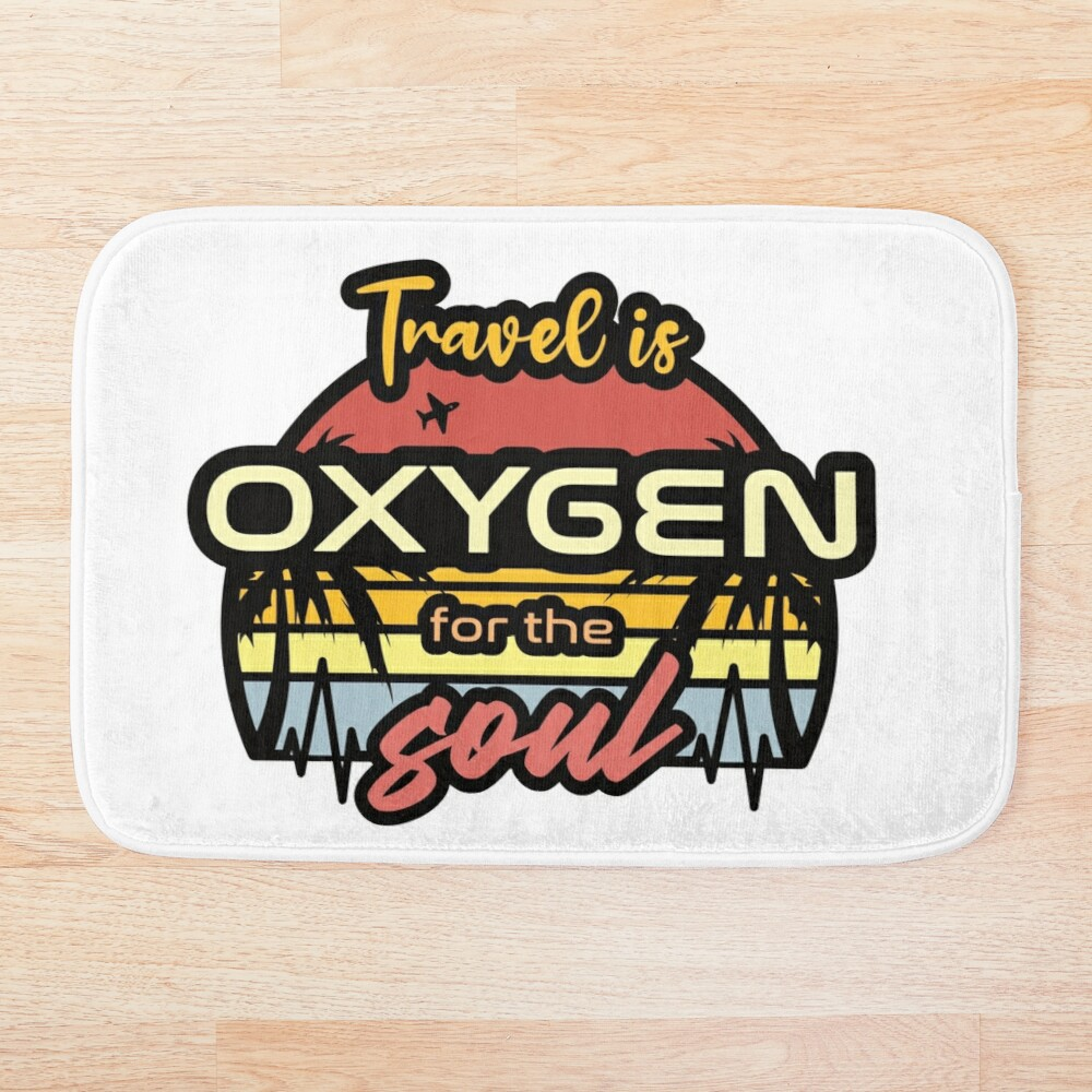 Travel is oxygen sunset design