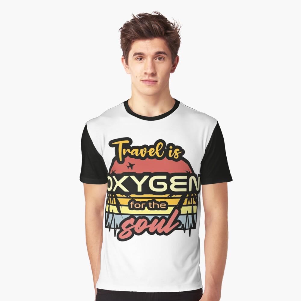 shirt travel is oxygen sunset