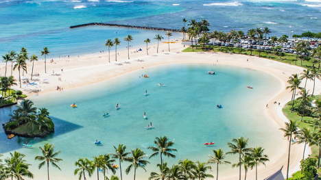 Taking a private jet to Hawaii is a great option for US tourists who want to travel domestic.