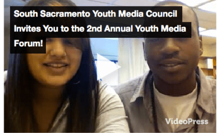 South Sacramento Youth Media Council Invites You to the 2nd Annual Youth Media Forum