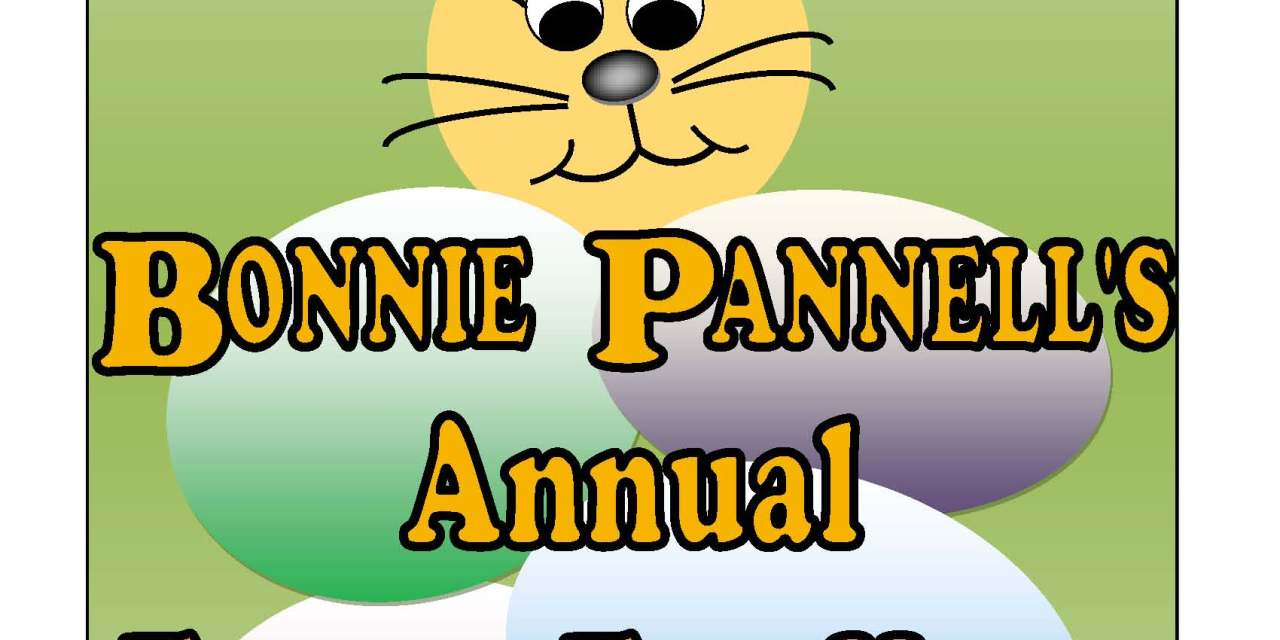 Vice Mayor Bonnie Pannell's Annual Easter Egg Hunt!