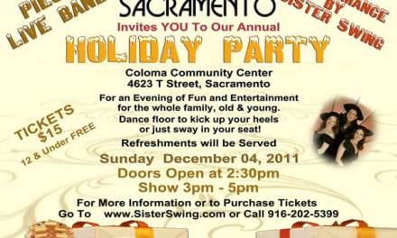 Access Sacramento Holiday Party with Sister Swing