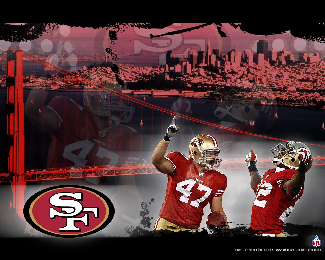28 san francisco 49ers wallpaper c49ers free computer wallpapers voltagebd Choice Image