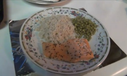 Video: Healthy baked salmon