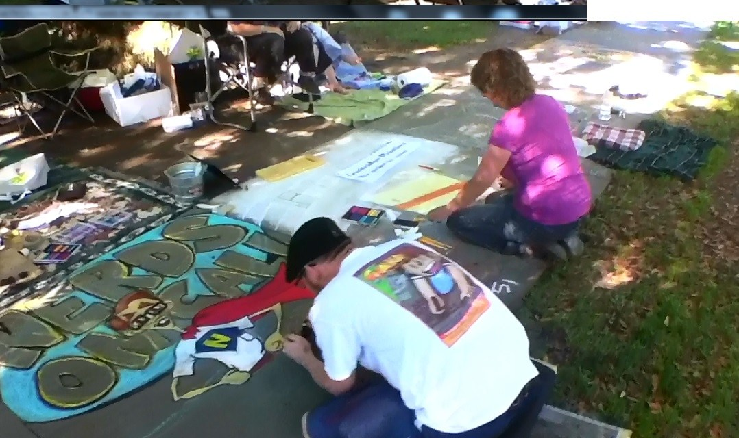 Participants Welcome You To Chalk It Up! 2013