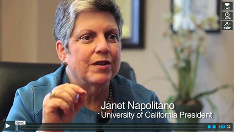 Q&A: Napolitano On Diversity, Academics and the Undocumented at U.C.