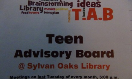 Sylvan Oaks library hosts teen advisory board