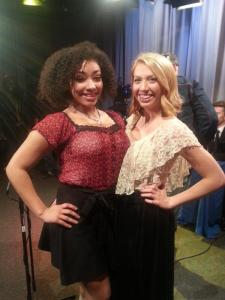 "Mikayla Brim (left) and Rebecca Peters win spots in the ""Sacramento Has Talent"" stage show from Access Sacramento."