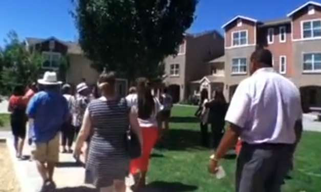 VIDEO: Mutual Housing Gives Low Income Housing Tours at Lemon Hill