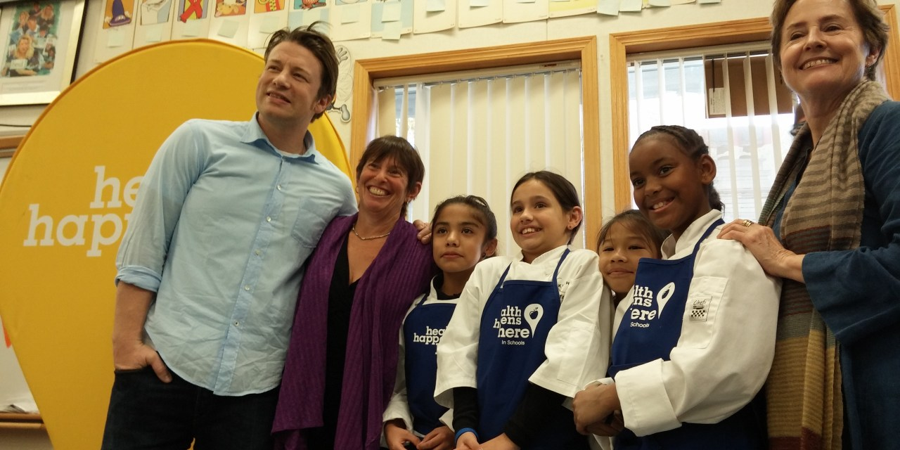 VIDEO: World Renowned Chefs Come to Pacific Elementary to Promote Food Literacy