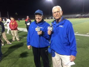 Access Sacramento's Will James and CIF Hall of Famer Coach Jim Dimino last week at Antelope High School's Titan Stadium