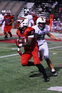 Cordova Running Back Deante McCullough (Courtesy: RanchoCordovaindependent.com)